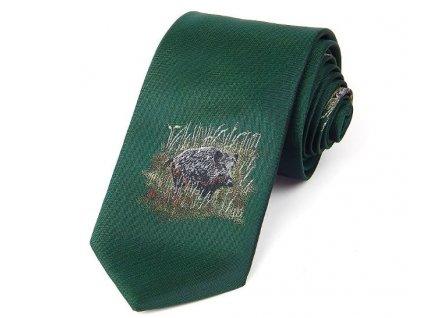 kravata lovec černé zvěře