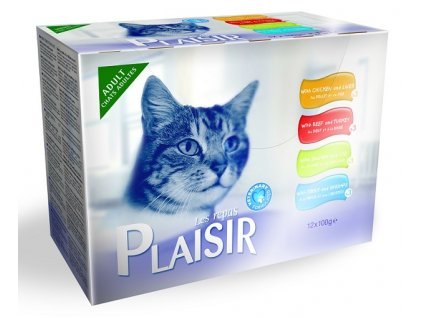 6876 plaisir cat kapsicky multipack 12x100g