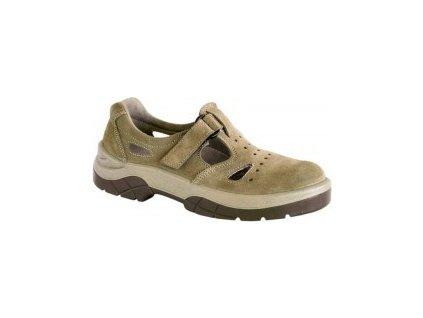 Perforovaný sandál WINTOPERK SPORT OMEGA nutelová 48