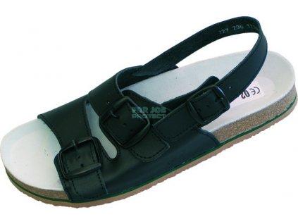 Pánský anatomický sandál TIPA hnědý 48