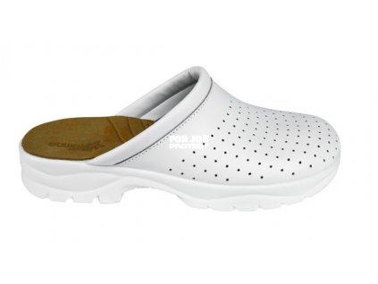 Pantofle TARUCA pánské, z povrstvené usně