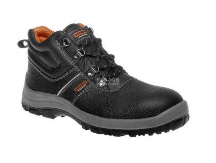 Bezpečnostní kotníková obuv BENNON BASIC S3, s ocelovou špicí a planžetou