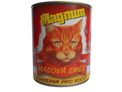 Magnum kočka masová směs 855g