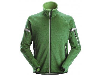 Bunda AllroundWork 37.5® fleecová zelená XS Snickers Workwear