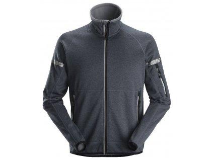 Bunda AllroundWork 37.5® fleecová šedá XS Snickers Workwear