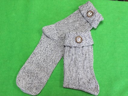 Ponožky Lusana s ozdobou