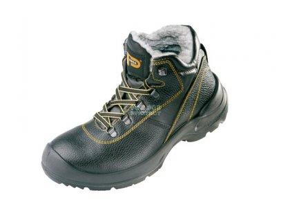Zimní bezpečnostní obuv PANDA PROFESIONAL ORSETTO S3, s ocelovou špicí a planžetou