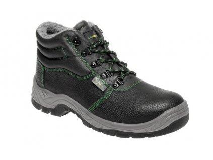 Bezpečnostní zimní kotníková obuv ADAMANT S3 s ocelovou špicí a planžetou 48
