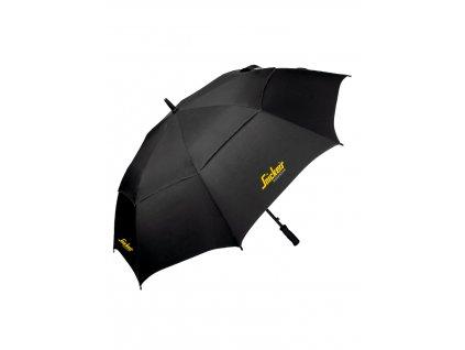 Deštník SNICKERS Workwear černý velký Snickers Workwear
