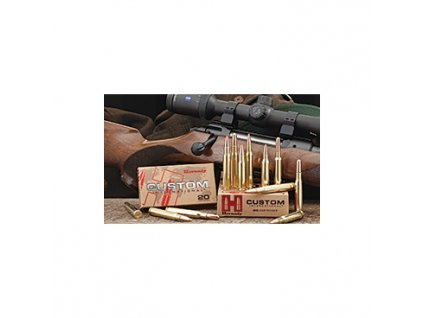 Náboj kulový Hornady, Custom International, 8x57JS, 195GR, SP
