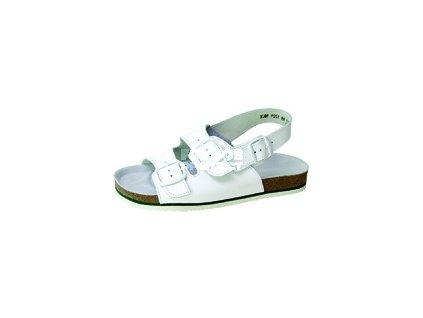 Pánský anatomický sandál TIPA bílý