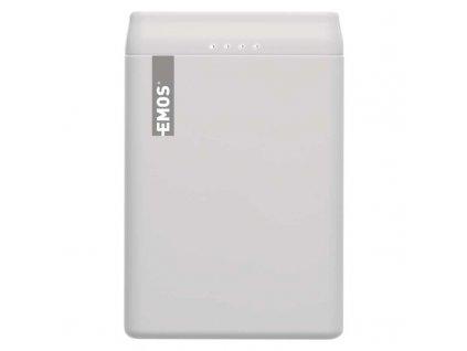 Powerbanka EMOS Alpha 5000 mAh, bílá