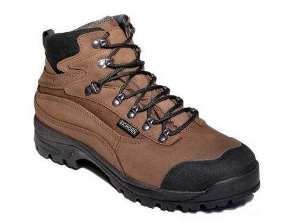 BIGHORN - Pánská treková obuv BIGHORN 0410 hnědá