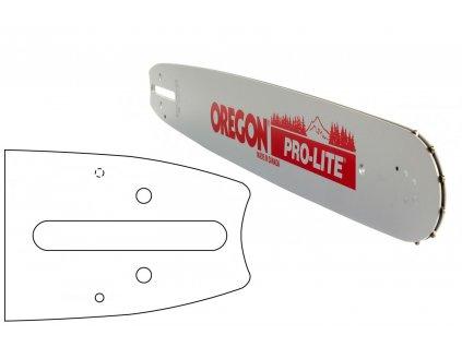 """Vodící lišta OREGON PRO-LITE 20"""", 1,6mm, .3/8"""""""