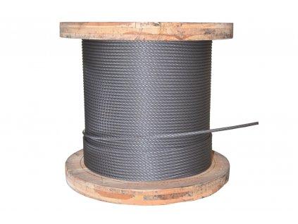 Lano ocelové 10mm TD - jiná délka (uveďte v metrech)