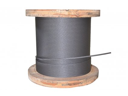 Lano ocelové 12mm TD - jiná délka (uveďte v metrech)