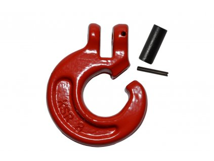 C-hák červený 8