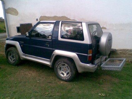 Zadní nosič -Optimal EHSV pozink 1000 x 500 x 125 mm