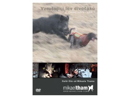 Lovecké DVD Vzrušující lov divočáků a vysoké zvěře 2.část