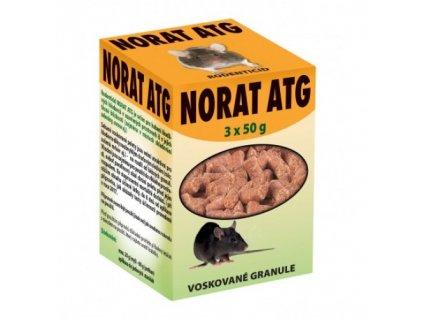 Norat ATG 3x50g voskové granule rodenticid