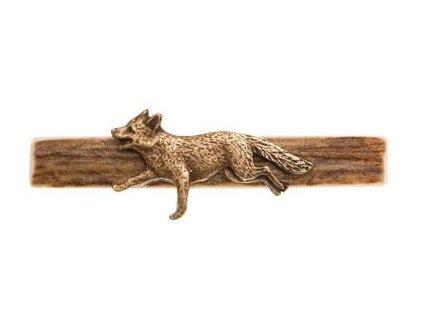 Kravatová spona liška*
