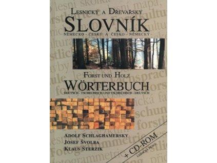 Lesnický a dřevařský slovník německo-český a česko-německý + CD