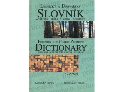 Lesnický a dřevařský slovník anglicko-český a česko-anglický + CD