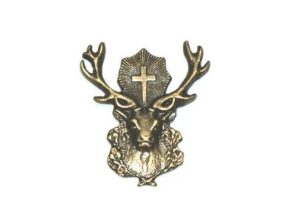 Odznak na klobouk svatý Hubert