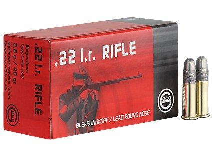 kal. 22 LR Geco Rifle/50ks