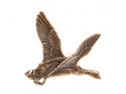 Odznak na klobouk kachna
