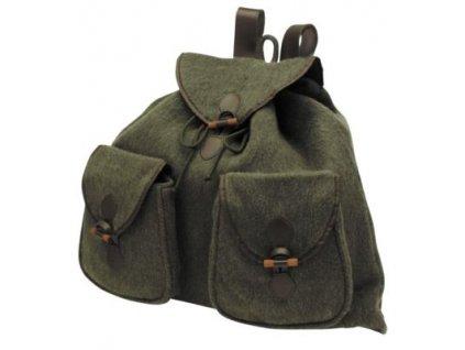 7D Lovecký ruksak - loden lovecká zeleň