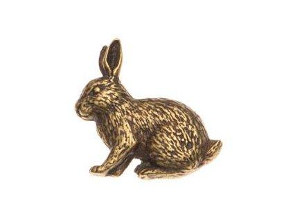 Odznak na klobouk králík