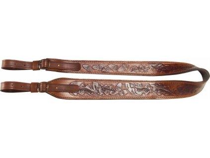 řemen - šíře 4 cm, variabilní - provedení Hunter Lux
