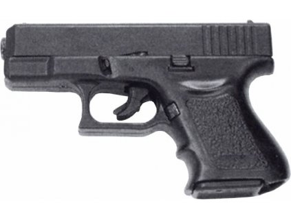 pistole Bruni, model Mini GAP - replika Glock, černěná