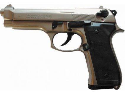 pistole Bruni, model 92 - replika Beretta, satén