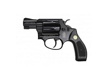 revolver Weihrauch, model HW 37, černěný - replika S&W