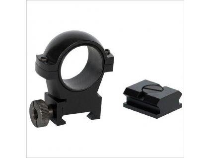 Laserluchs - Montáž s kroužkovou hlavou (25,4mm)