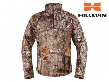 Hillman XPR Polofleece mikina - kamufláž 3DX®
