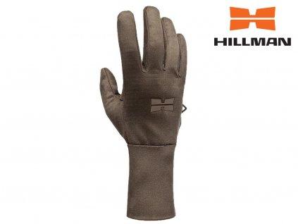 Windproof gloves lovecké rukavice b. Dub