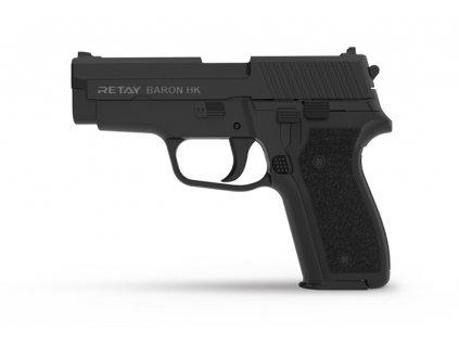 Plynová pistole Retay Baron HK 9 mm P.A.K. - černá