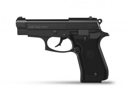 Plynová pistole Retay 84FS 9 mm P.A.K. - černá