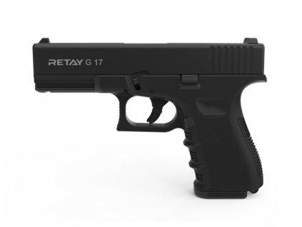Plynová pistole Retay G 17 9 mm P.A.K. - černá
