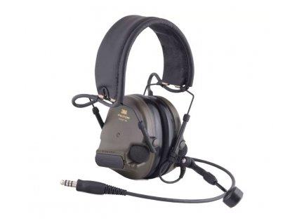 Elektronická střelecká sluchátka 3M PELTOR ComTac XPI NATO konektor