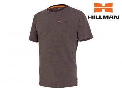 Myslivecké tričko kr. rukáv Cotton b. Dub