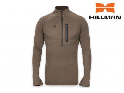 Lovecké termo tričko Hillman z merino vlny dl. rukáv