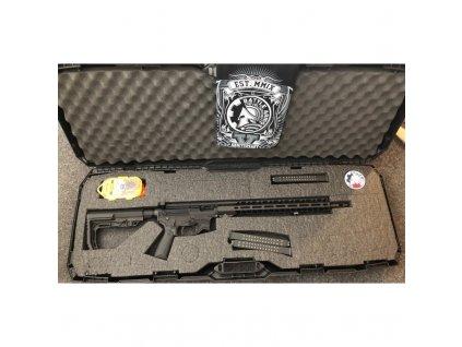 """Puška samonab. B.A.D., Mod.: GS PCC, Ráže: 9mm Luger, hl.: 16"""", zásobníky Glock"""