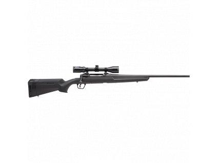 Kulovnice opak. Savage Arms, Model: AXIS II XP, Ráže: 6,5mm CRM, hl.: 56cm, polymer, černá