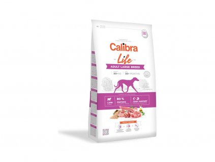 Calibra Dog Life Adult Large Breed Lamb 12kg