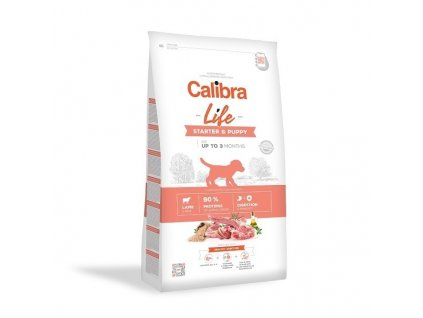 Calibra Dog Life Starter & Puppy Lamb 12kg