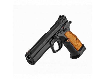 Pistole sam. CZ, Mod.:75 TS Orange,Ráže:9x19, hl.:130mm, 20+1,duralové střenky